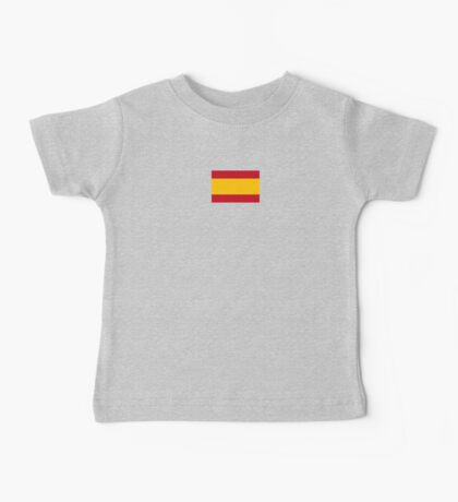 Spain World Cup Flag - Spanish T-Shirt Baby Tee