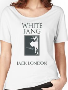 White Fang Jack London book cover Women's Relaxed Fit T-Shirt