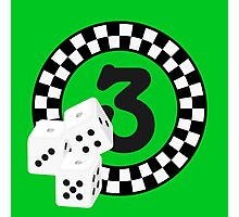 Bunco Dices - Table No Three VRS2 Photographic Print