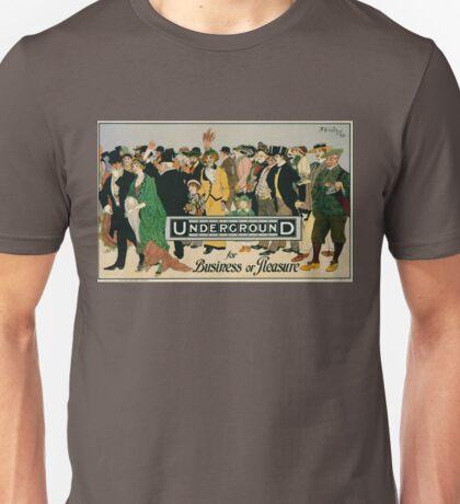 Vintage poster - London Underground Unisex T-Shirt