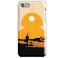 Star Wars The Force Awakens BB8 Poster iPhone Case/Skin