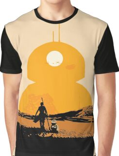 Star Wars The Force Awakens BB8 Poster Graphic T-Shirt