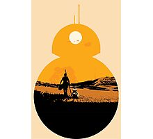 Star Wars The Force Awakens BB8 Poster Photographic Print