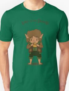 frodo, lord of the rings, donut Unisex T-Shirt