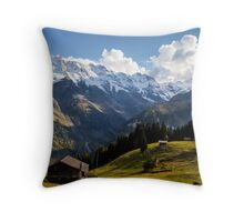 Sunny Switzerland Throw Pillow