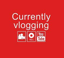Currently Vlogging - YouTube Unisex T-Shirt
