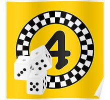 Bunco Dices - Table No Four VRS2 Poster