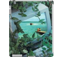 Living inside the box iPad Case/Skin