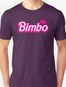 Bimbo in cute little dolly doll font T-Shirt