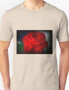 Autumn Red Rose Unisex T-Shirt