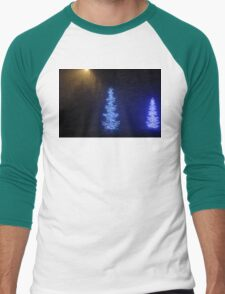 Christmas Tree Men's Baseball ¾ T-Shirt