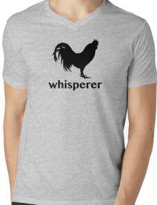 Rooster Whisperer Mens V-Neck T-Shirt