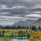 View from the Earnslaw Lodge ( 2 ) by Larry Lingard-Davis