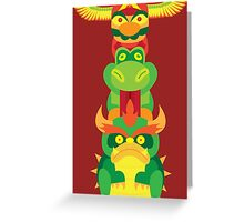 Totemario Greeting Card