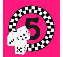 Bunco Dices - Table No Five VRS2 Photographic Print