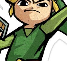 The Legend Of Zelda Link Wind Waker (Toon Link) Sticker
