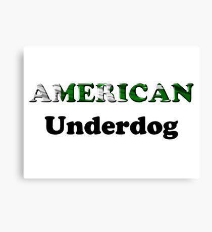 American Underdog - Pakistan Canvas Print