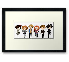 Who-Lock Framed Print