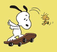 Snoopy Skate Kids Tee