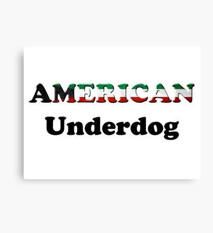 American Underdog - Kuwait Canvas Print