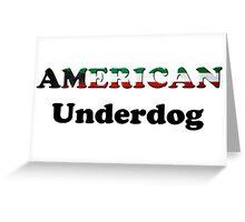 American Underdog - Kuwait Greeting Card