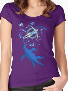 Cryptosoaking Women's Fitted Scoop T-Shirt