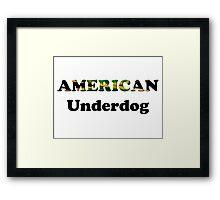 American Underdog - Jamaica Framed Print