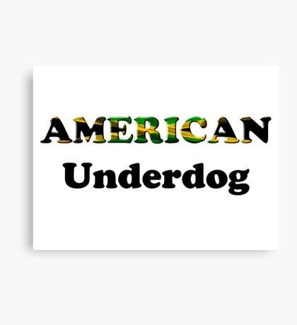 American Underdog - Jamaica Canvas Print