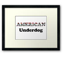 American Underdog - Iraq Framed Print