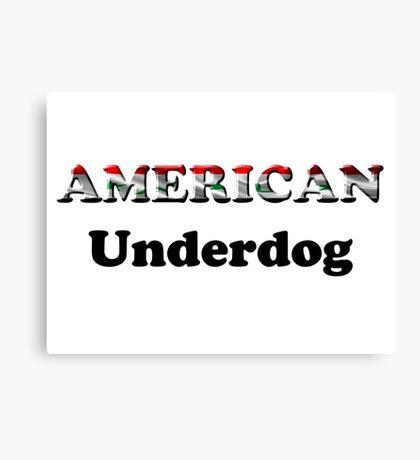 American Underdog - Iraq Canvas Print