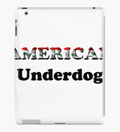 American Underdog - Iraq iPad Case/Skin