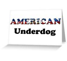 American Underdog - Haiti Greeting Card