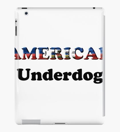 American Underdog - Haiti iPad Case/Skin