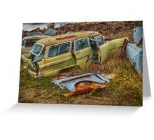 Ford Wagon Greeting Card