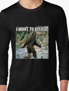 Chewy in the woods Long Sleeve T-Shirt