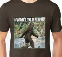 Chewy in the woods Unisex T-Shirt