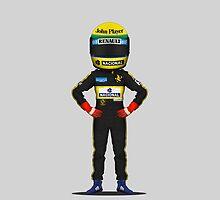 Ayrton Senna 1985 by MD-Colors