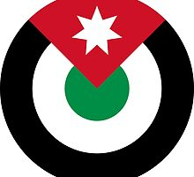 Roundel of the Royal Jordanian Air Force  by abbeyz71