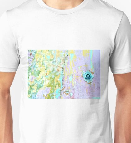 Sherbet Abstract...Key Required Unisex T-Shirt