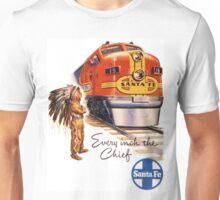 Vintage poster - Santa Fe Unisex T-Shirt