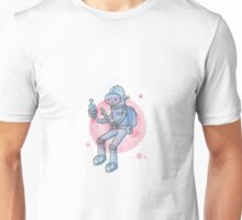 Blue Space Man Unisex T-Shirt