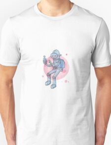Blue Space Man T-Shirt
