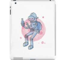 Blue Space Man iPad Case/Skin