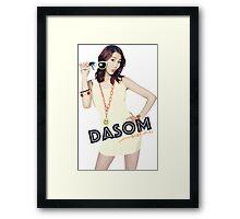 SISTAR - Dasom Framed Print