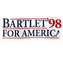 Bartlet for America Slogan Poster