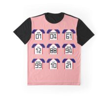 Exo LMR Jerseys Graphic T-Shirt