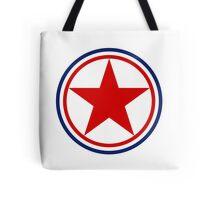 Roundel of the North Korean Air Force  Tote Bag