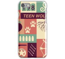 Teen Wolf Poster iPhone Case/Skin