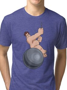 Wreck-It-Ball Ralph Tri-blend T-Shirt