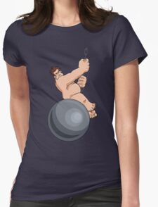 Wreck-It-Ball Ralph Womens Fitted T-Shirt
